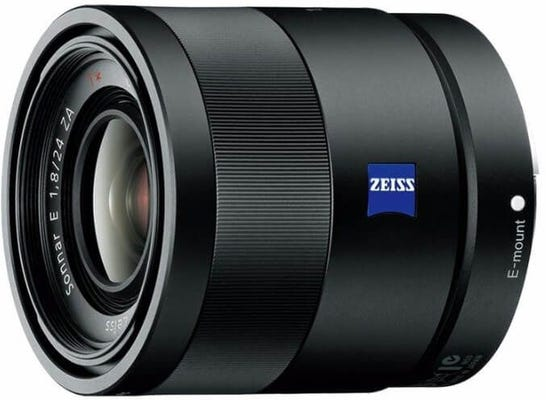 Sony NEX Carl Zeiss 24mm f/1.8 Lens