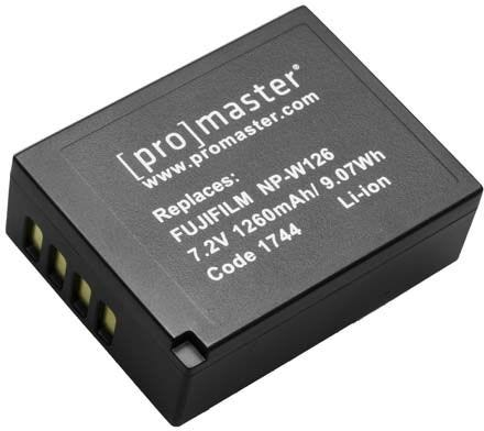 ProMaster Fujifilm NP-W126 Battery