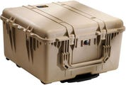 Pelican 1640 Desert Tan Transport Case with Foam