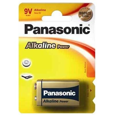 Panasonic 9V Alkaline Battery