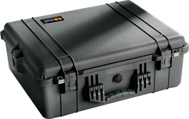 Pelican 1600 Black Case