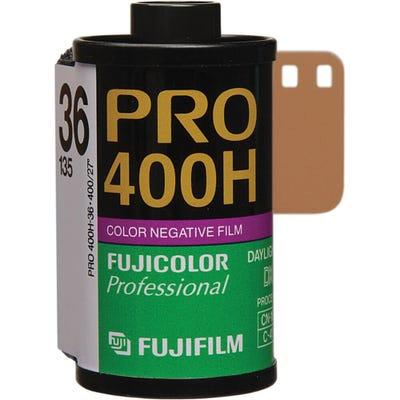 Fujifilm PRO 400H 35mm 36 Exposure - Colour Negative Film