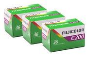 Fujifilm Superia C200 135/36 - Triple Pack - Colour Negative Film