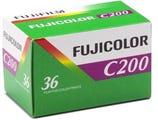 Fujifilm Superia C200 35mm 36 Exposure - Colour Negative Film
