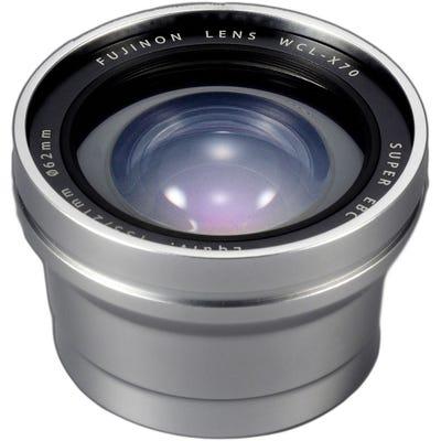 Fujifilm Wide Conversion Lens X70 Silver