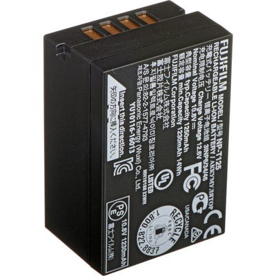 FujiFilm NP-T125 Li-Ion Rechargeable Battery - GFX series