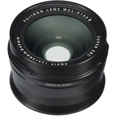 FujiFilm WCL-X100 II Black Wide Conversion Lens
