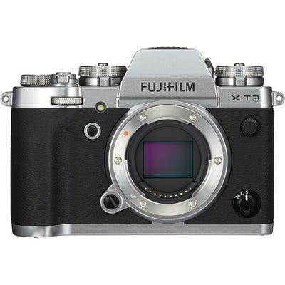 FujiFilm X-T3 Body Silver Compact System Camera
