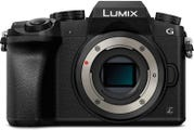 Panasonic Lumix G7 Body Black Compact System Camera