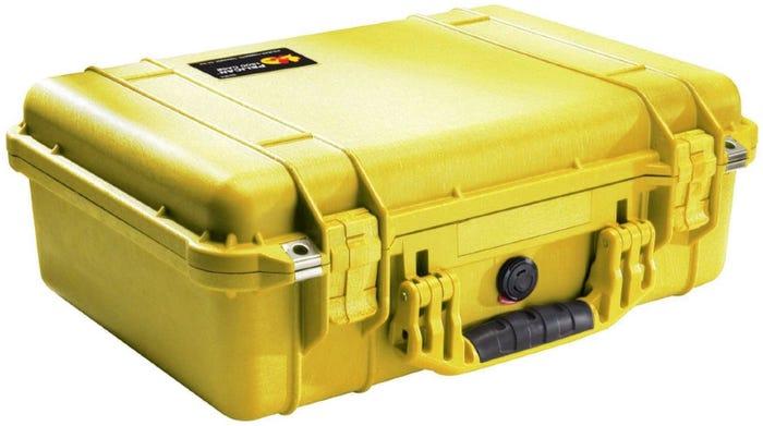Pelican 1500 Yellow Case