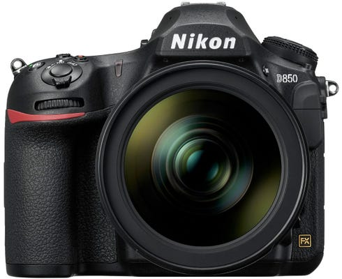 Nikon D850 w/ AF-S 24-120mm VR Lens Digital SLR Camera