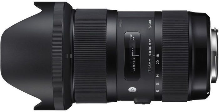 Sigma 18-35mm f/1.8 DC HSM Art Series Lens - Pentax