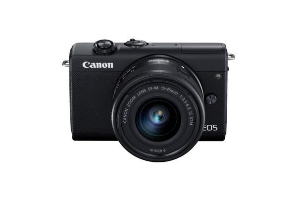 Canon EOS M200 w/EFM15-45mm f3.5-6.3 IS STM Lens - Compact System Camera