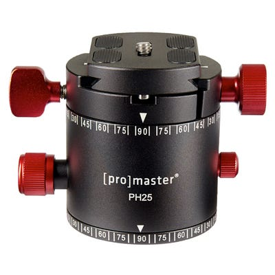 ProMaster PH25 Professional Panaoramic Head with Quick Release Plate