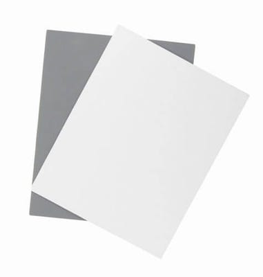 ProMaster Grey Card 8 x 10 - 2 Pack
