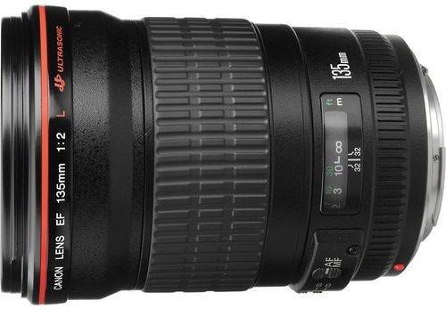 Canon EF 135mm f/2L USM Telephoto Lens