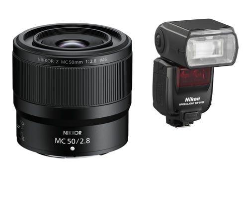 Nikon Z Macro Pack includes Nikkor Z MC 50mm f/2.8 Macro Lens & SB-5000 Speedlight