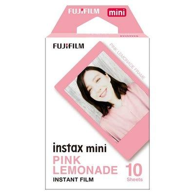 Fujifilm Instax Mini - Pink Lemonade Instant Film (10 Sheets)
