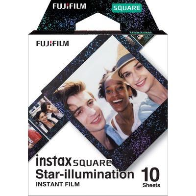 Fujifilm Instax Square Star Illumination - Instant Film (10 Sheets)