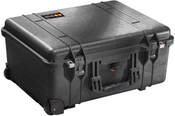 Pelican 1560 Black Case with Papped Dividers