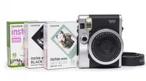 Fujifilm Instax Mini 90 NEO Classic Instant Camera - Triple Film Kit (Black)
