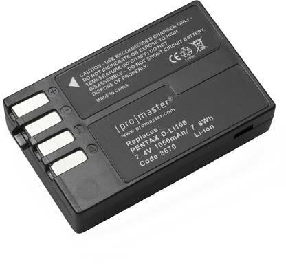 ProMaster Pentax D-LI109 Battery