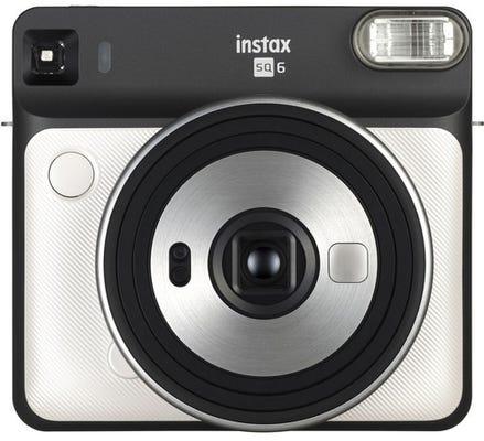 Fujifilm Instax Square SQ6 Instant Camera - Pearl White