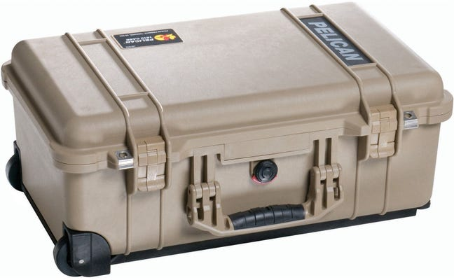 Pelican 1510 Desert Tan Case with Foam