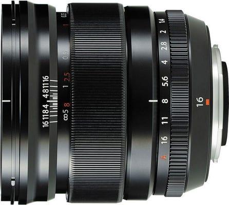 Fujifilm X Lens XF16mm f/1.4R WR Lens