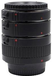 ProMaster Macro Extension Tube Set - Nikon F