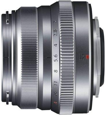Fujifilm XF 35mm f/ 2 R WR Silver Lens