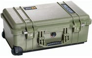 Pelican 1510 Olive Green Carry On Case with Dividers