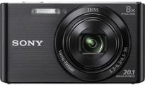 Sony Cybershot W830 Black Digital Compact Camera