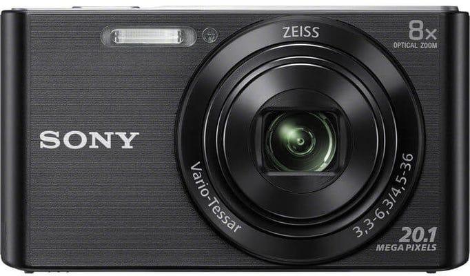 Sony Cybershot W830 Black Digital Compact Camera