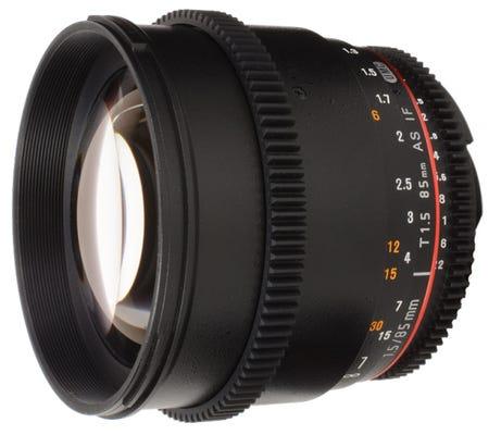 Samyang 85mm T1.5 VDSLR UMC II Nikon Full Frame Lens