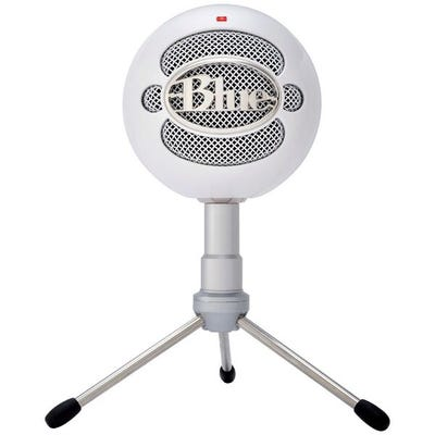 Blue Snowball ICE White Plug & Play USB Microphone