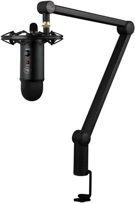 Blue Yeticaster Bundle - PRO Streaming USB Microphone w/ Radius III & Compass Software