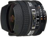 Nikon AF 16mm f/2.8D Fisheye Lens