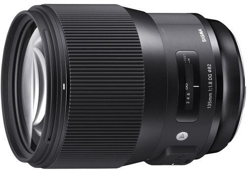 Sigma 135mm f/1.8 DG HSM Art Series Lens - Canon