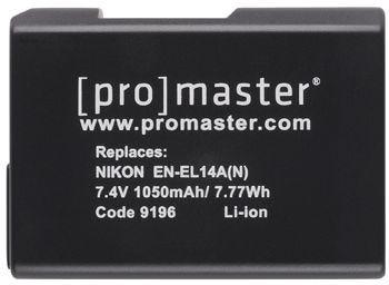 ProMaster Nikon EN-EL14A N Battery