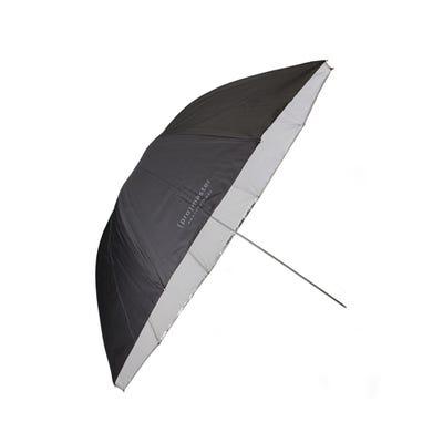 "ProMaster Professional Umbrella - Convertable 45"" - Black/Silver/Translucent"