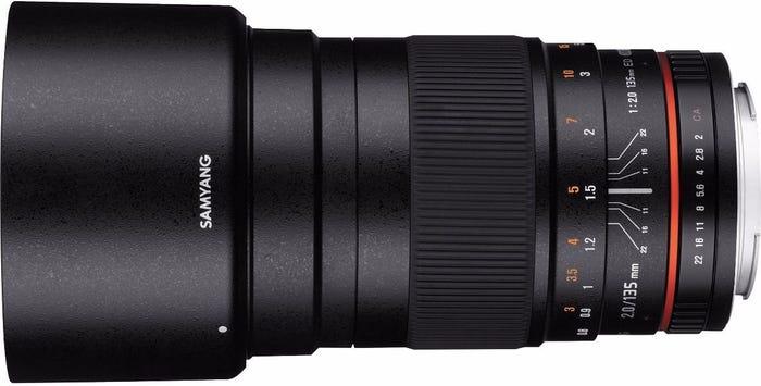 Samyang 135mm f/2.0 Canon EOS Full Frame Lens