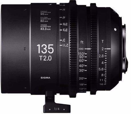Sigma 135mm T2 CINE Lens - Arri PL Mount