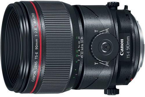 Canon TS-E 90mm f/2.8L Tilt Shift Lens w/Macro