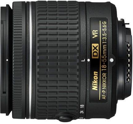 Nikon AF-P DX Nikkor 18-55mm f/3.5-5.6G VR Wide Angle Lens