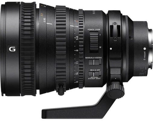 Sony FE PZ 28-135mm f/4 G Lens