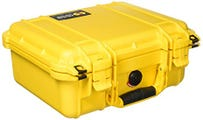 Pelican 1400 Yellow Case with Foam