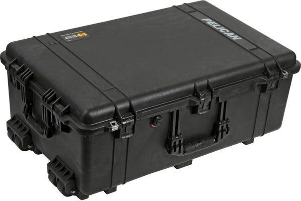 Pelican 1650 Black Case with Foam