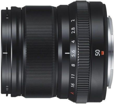 FujiFilm X Lens XF50mm f/2 R WR Black Lens