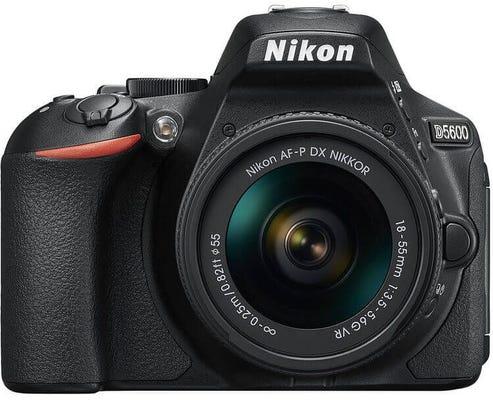 Nikon D5600 w/ AF-P 18-55mm VR Lens Digital SLR Camera